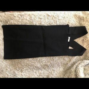 LF seek the label black body con dress